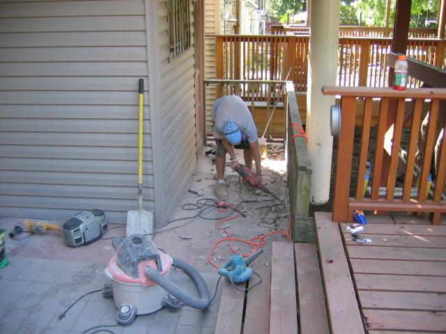 Residential Concrete Repair Knapp Masonry Nj Pa Ny